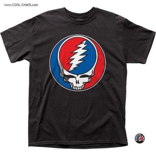 Grateful Dead T-Shirt / SYF,Grateful Dead Steal Your Face Tee
