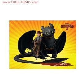 How to Train Your Dragon 2 Magnet-Toothless+Hiccup
