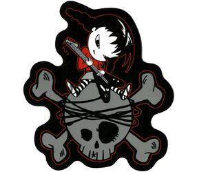 Sugar Hiccup Rocker Chick Sticker