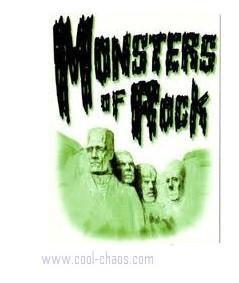 Monsters of Rock Postcard