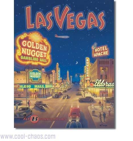 Travel Las Vegas Sign