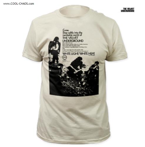 The Velvet Underground T-Shirt / Come Step Softly,White Light / White Heat Tee