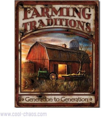 Generation to Generation Farming Sign