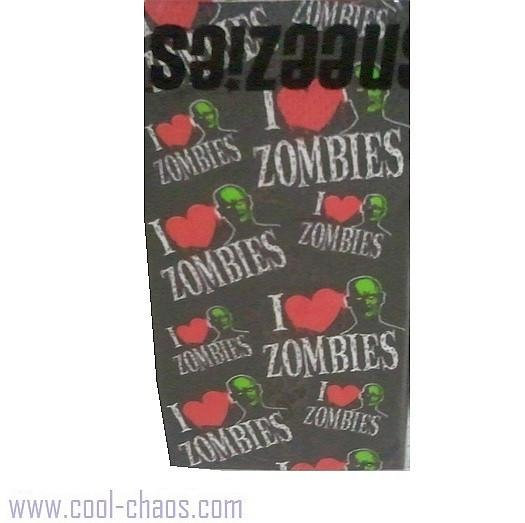 I Love Zombies Purse Tissues