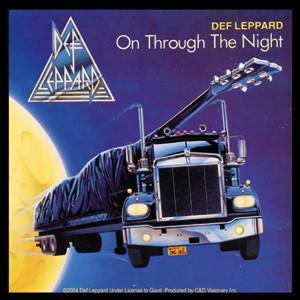 On Through The Night Def Leppard Sticker