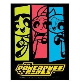Neon Powerpuff Girls Sticker