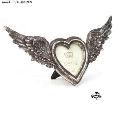 Flying Heart Frame / Angel Wings Gift from Alchemy Gothic 1977