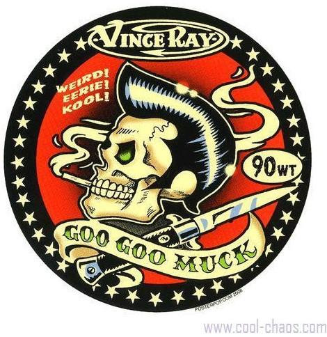 Goo Goo Muck Rockabilly Sticker