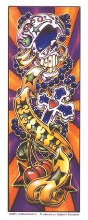 Old Skool Faith Tattoo Sticker art
