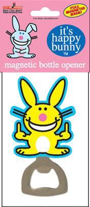 Happy Bunny Bottle Opener