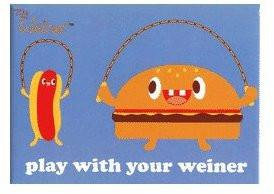 Fun with Buns Weiner Magnet by Bored #2