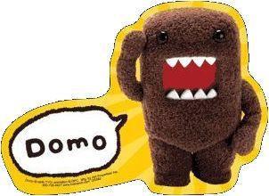 Domo-Kun Sticker #1 Domo Salutes you