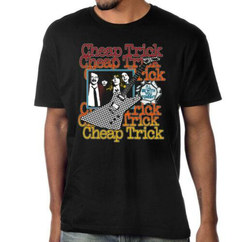 CHEAP TRICK T-Shirt / I'LL BE WITH YOU TONIGHT ROCK TEE