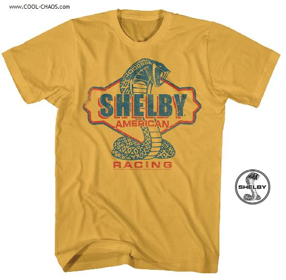 Carroll Shelby Racing T-Shirt / Retro Throwback Shelby Cobra Race Tee
