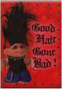 Good Luck Trolls Big Hair Rocker Troll Magnet