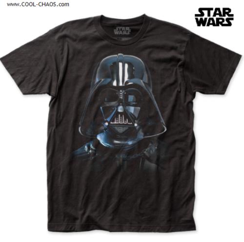 STAR WARS DARTH VADER T-SHIRT / Darth Vader Mask Movie Poster Throwback Tee