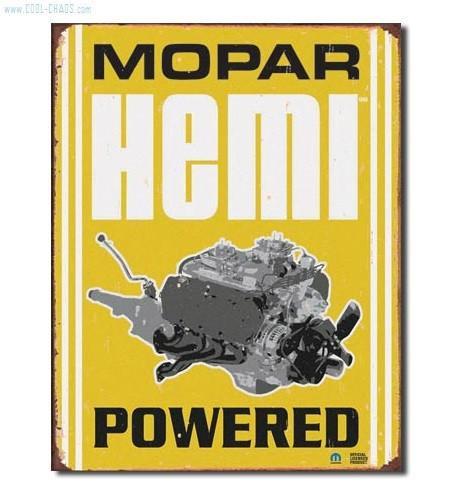 Hemi Powered Mopar Sign