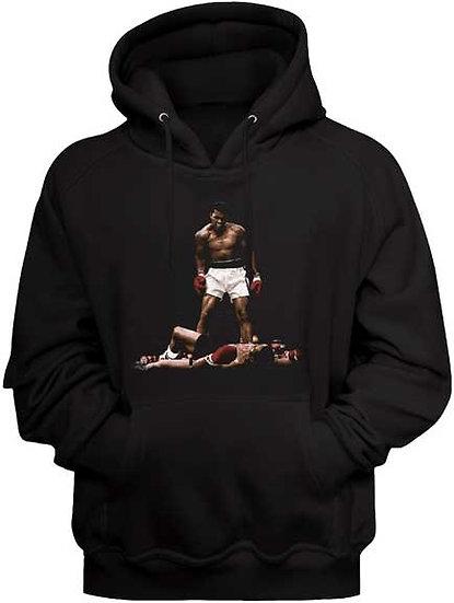 MUHAMMAD ALI Hoodie / Ali knockout Boxing Hooded Sweatshirt