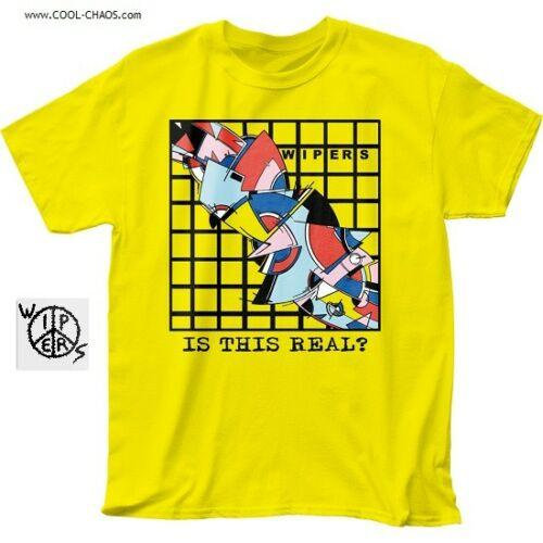The Wipers T-Shirt / Retro 1977 Punk Rock Tee,Is This Real? The Wipers Tee