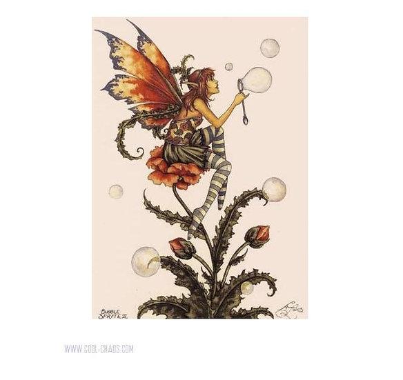 Bubble Sprite II Fairy Postcard