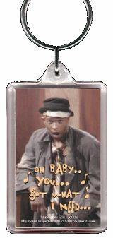 Anton In Living Color Keychain