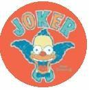 Krusty the Clown Joker Button