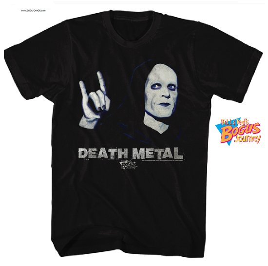 Bill & Ted's Bogus Journey T-Shirt / Death Metal Tee
