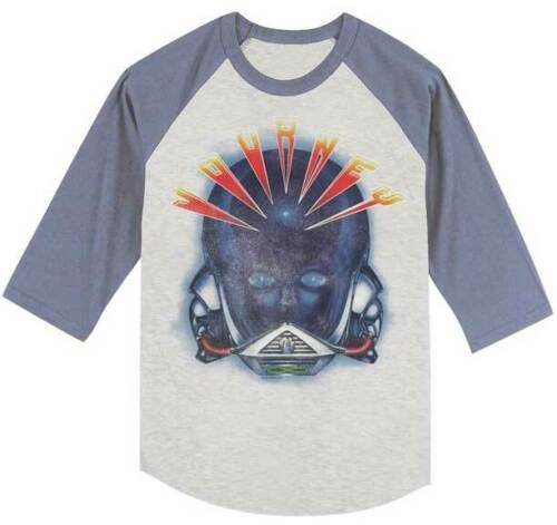 Journey T-Shirt / 80's Throwback distressed Journey Frontiers Baseball Tee