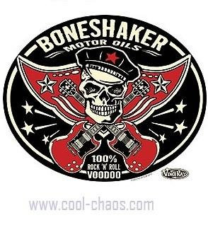 Bone Shaker Motor Oil Sticker