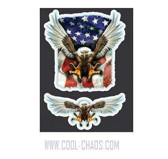 USA Mini Eagle Stickers