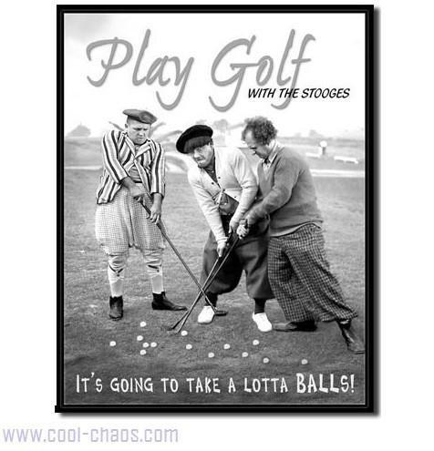 A lot of Balls! Golf Tin Sign