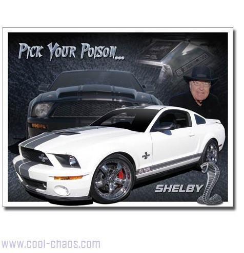 Carrol Shelby Cobra Sign