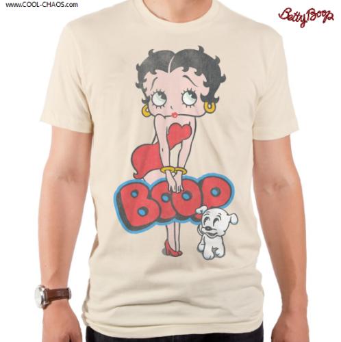 Betty Boop & Pudgy T-Shirt / Betty Boop Tee