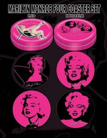 Marilyn Monroe Beverage Coasters