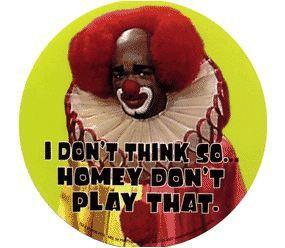 Homey the Clown Sticker- Round