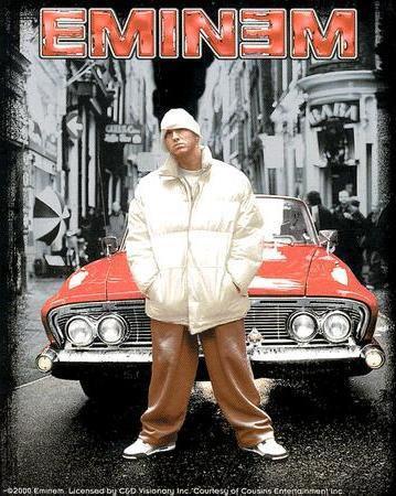 Cadillac Eminem Sticker