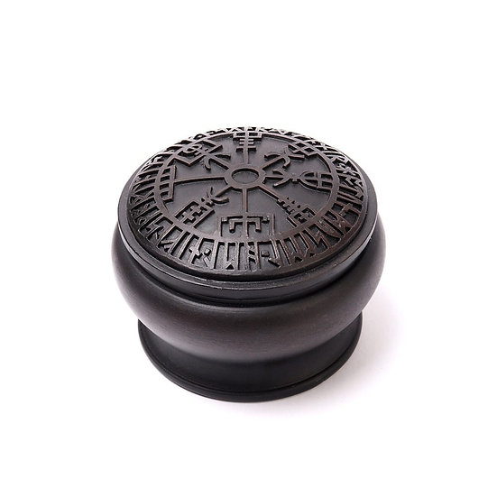 Viking World Vegvisir Stash Trinket Box by Alchemy Gothic 1977