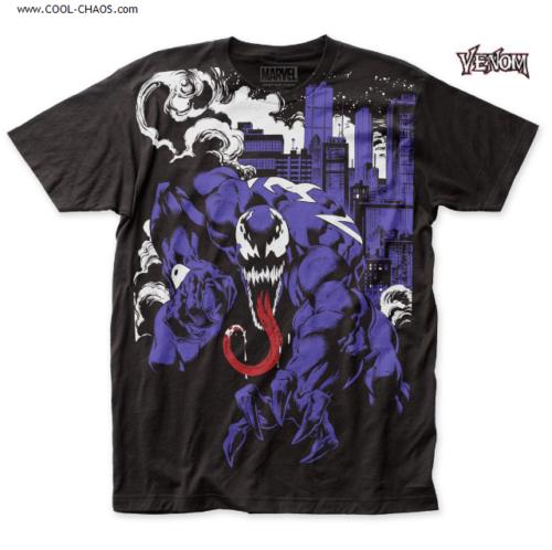 Venom T-Shirt by Marvel Comics - City Takeover Venom Tee