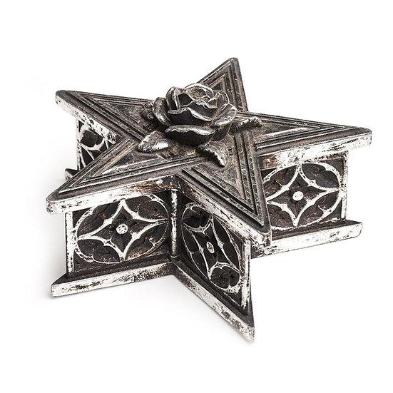 Rose Pentagram Trinket Box