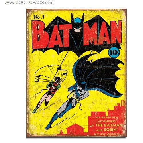 Batman No.1 Replica Comic Book Tin Sign