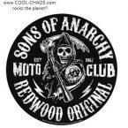 Reaper Sons of Anarchy Moto Club Sticker