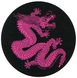 Red Chinese Dragon Sticker