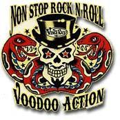 Non-Stop Rock n' Roll Voodoo Sticker