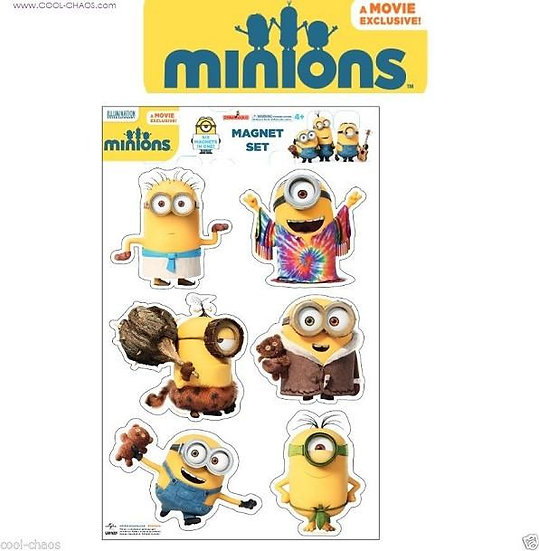 Minions Movie Magnet Set