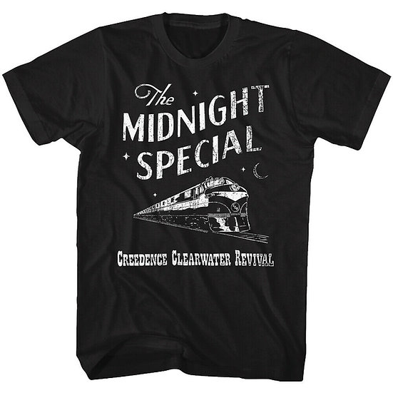 CREEDENCE CLEARWATER REVIVAL T-SHIRT / THE MIDNIGHT SPECIAL ROCK TEE