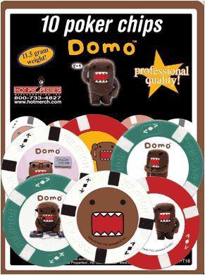 Domo-Kun Poker Chips Set
