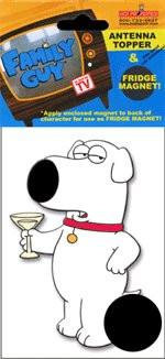 Family Guy Brian Antenna Topper