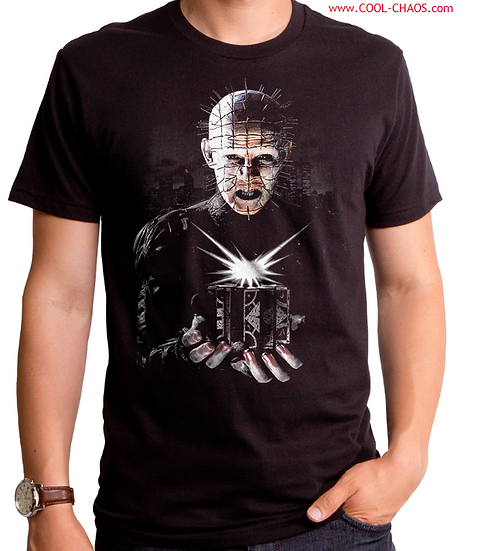 Pinhead Puzzle Box Hellraiser T-Shirt Men's Sizes: S/M/L/XL/2X