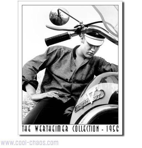 1956 Motorcycle Elvis Sign