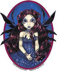 Countess Aubergine Fairy Sticker